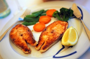 Grilled Fish Entree in Barcelona